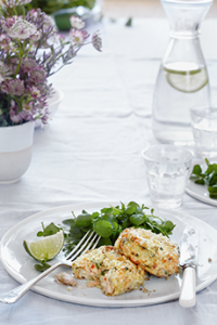 Salmon Chilli and Lime Fishcakes